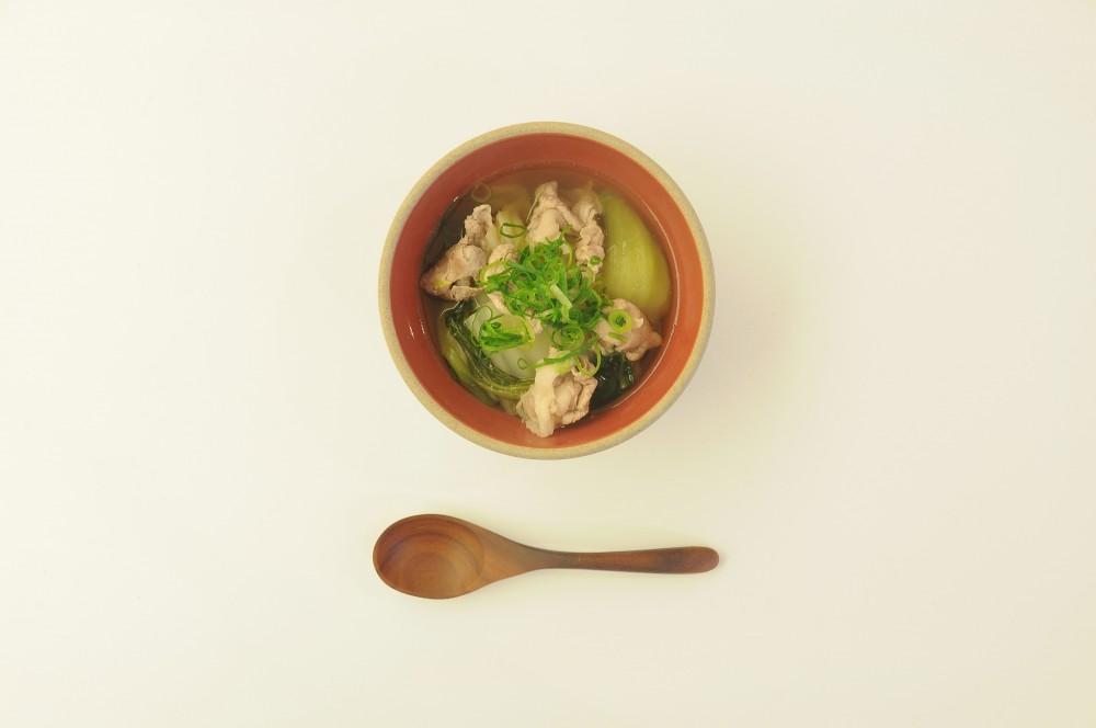 豚バラ肉と白菜の旨煮スープ