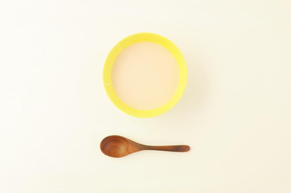 桃の冷製スープ