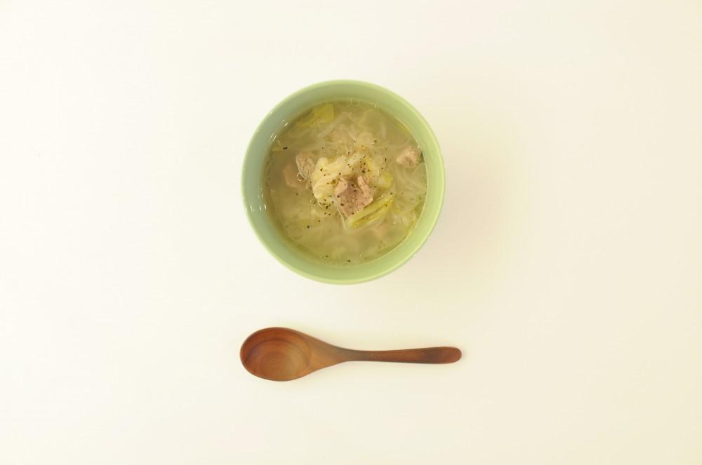 ラム肉と長ねぎのモンゴルスープ