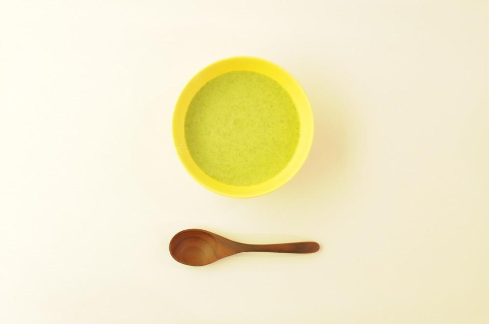 ズッキーニの冷たいスープ