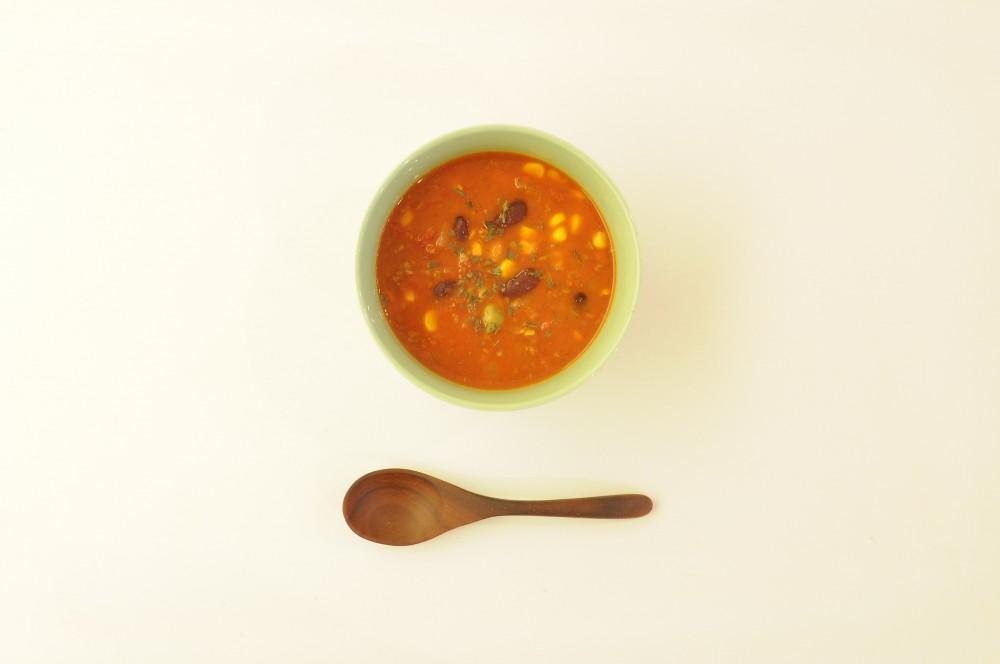チリコンカンのスープ仕立て