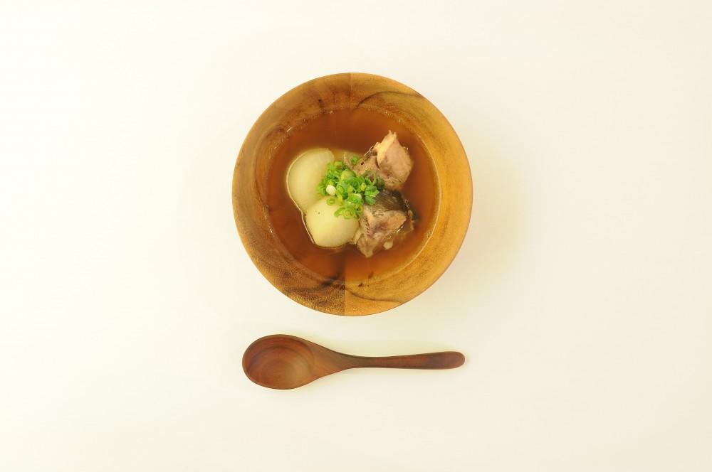 ぶり大根のスープ仕立て