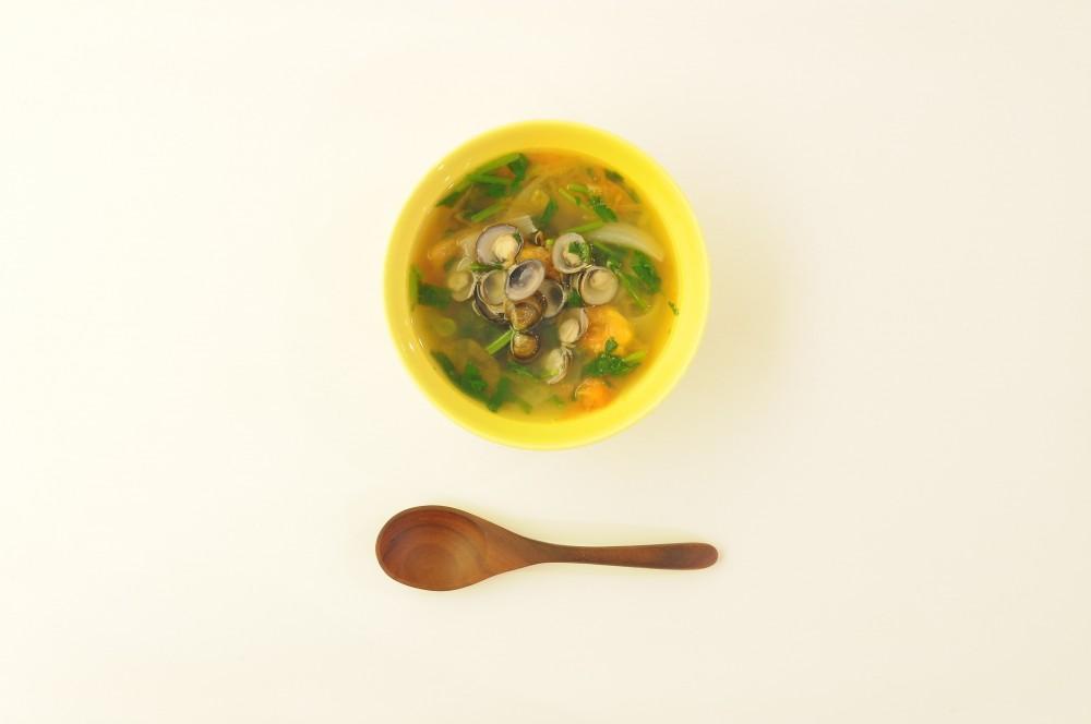 しじみとパクチーのベトナムスープ