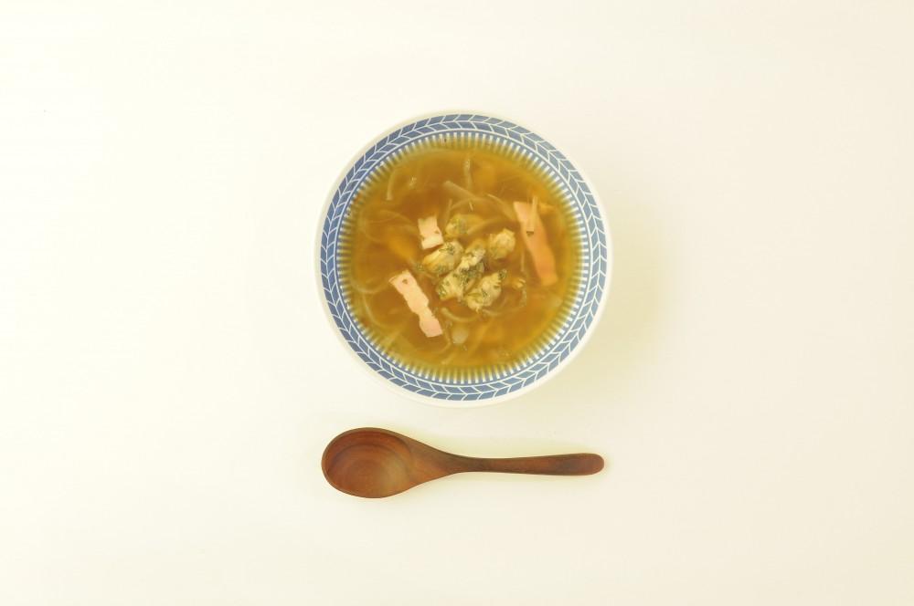 あさりのジンジャースープ