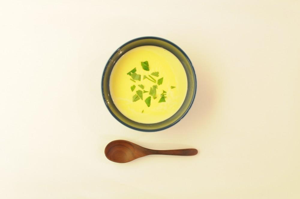 南瓜とクリームチーズのスープ