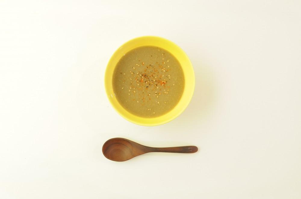 牛蒡のスープ 味噌風味