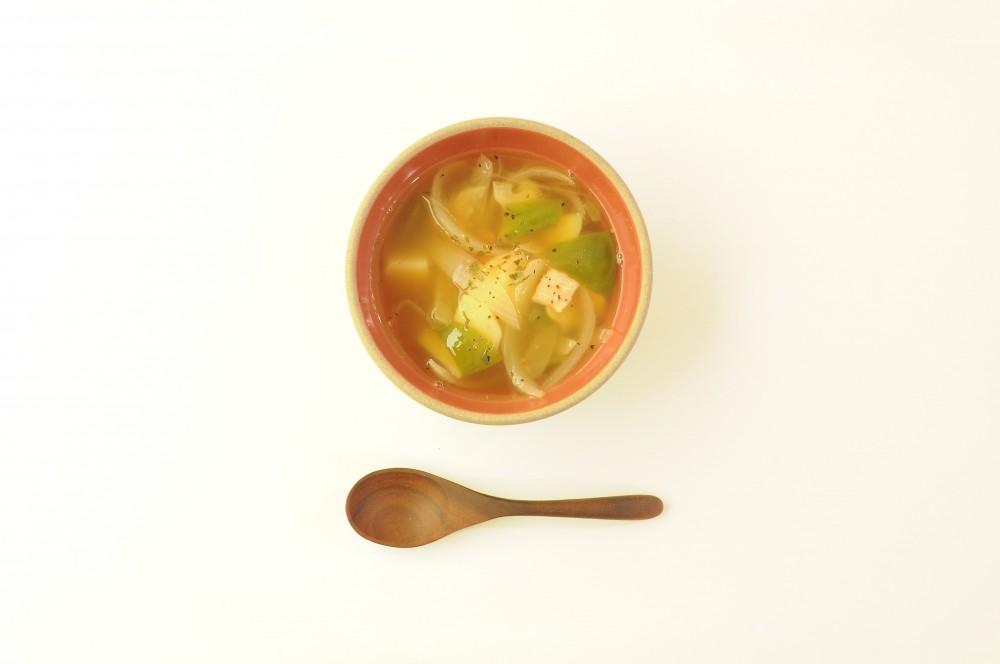 じゃが芋と玉ねぎのにんにくスープ