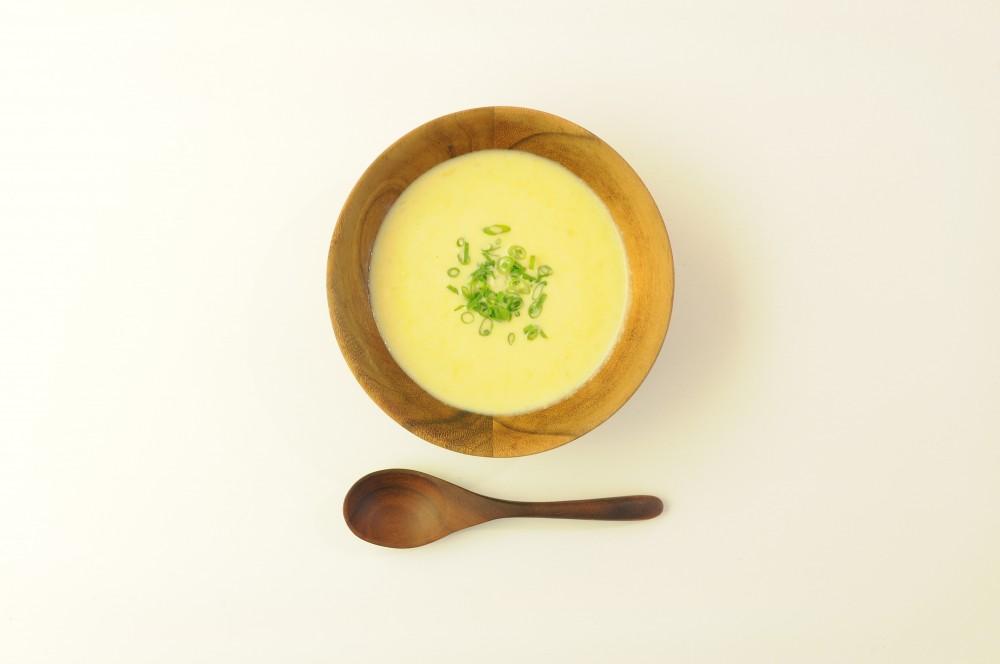 味噌風味の和風コーンスープ