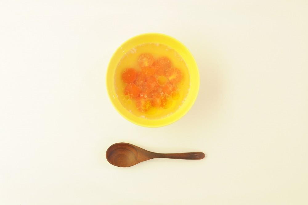 ミニトマトの塩麹スープ