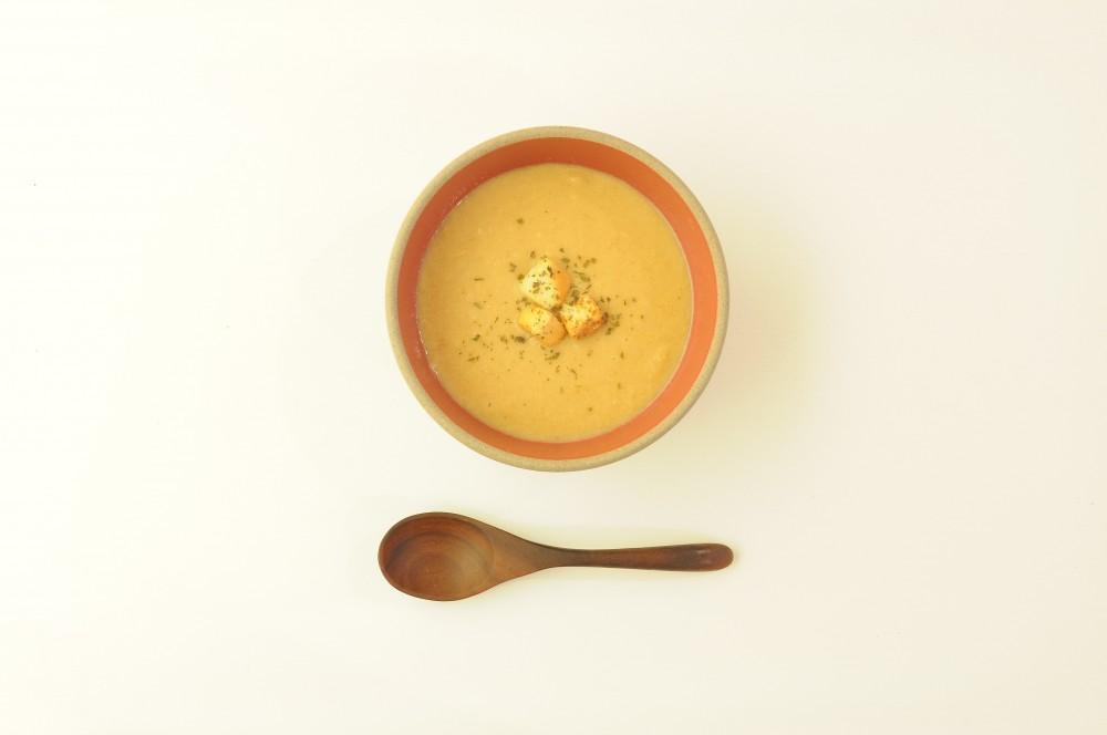 ピーナッツコーンスープ