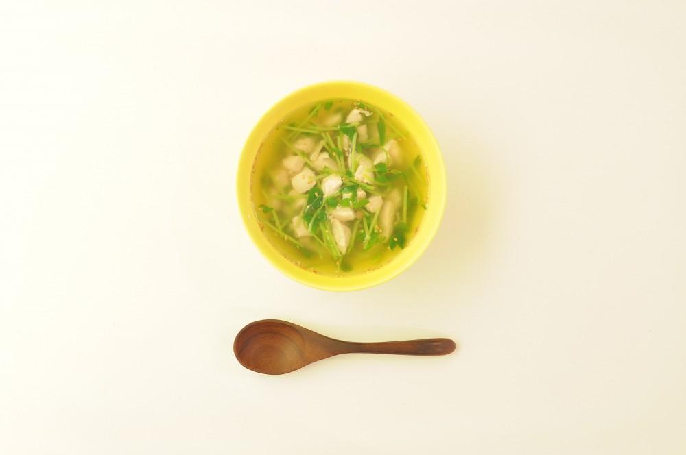 鶏肉の花椒スープ