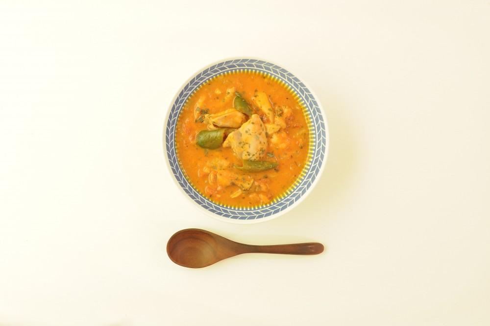 鶏肉のトマトシチュー オレガノ風味