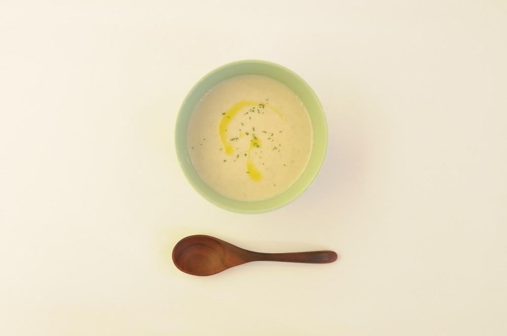 牛蒡と林檎のポタージュスープ