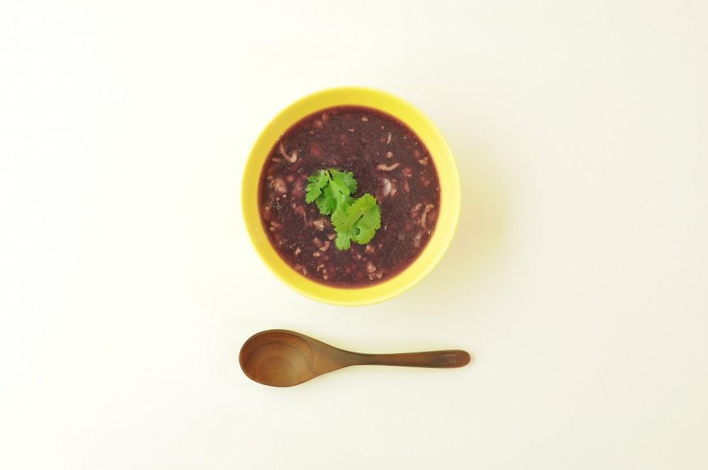 紫芋のベトナムスープ