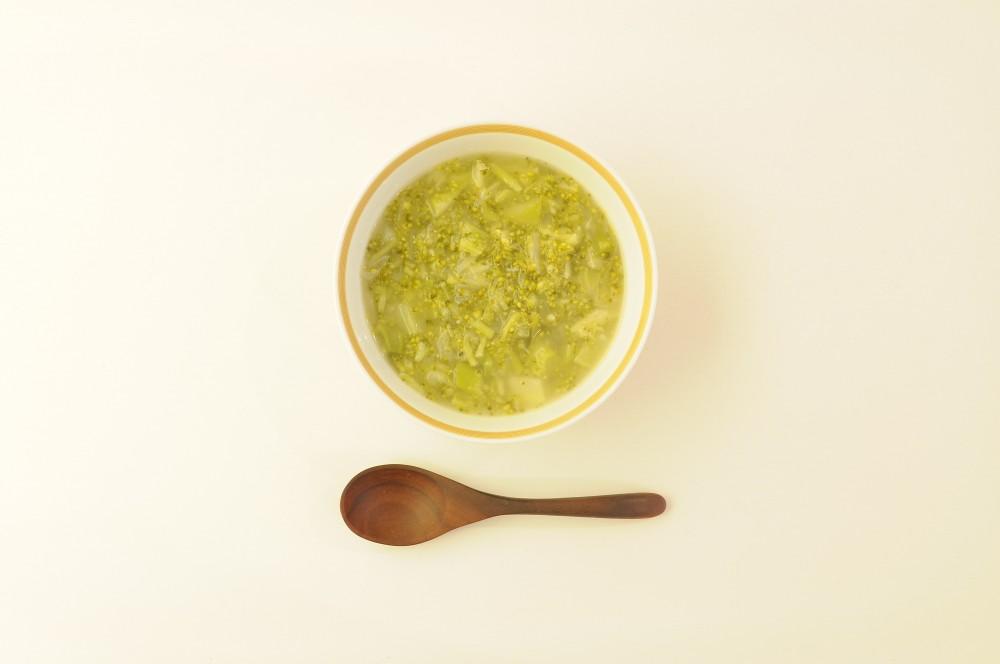 ブロッコリーのグリーンスープ