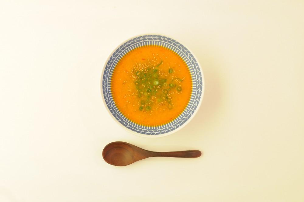 牛肉の坦々風スープ