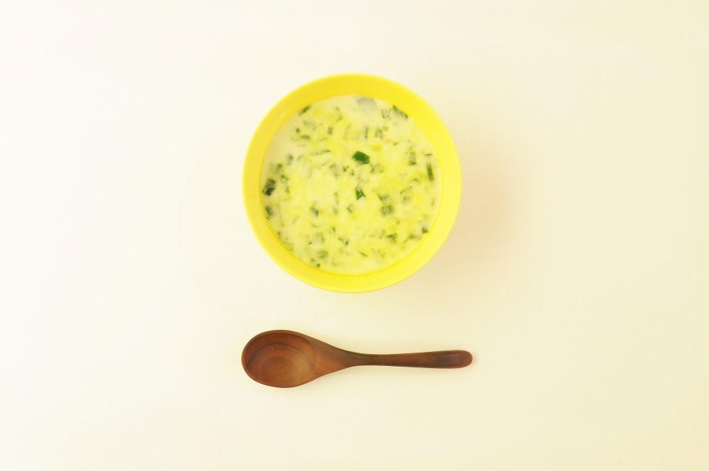 ほうれん草のミルクスープ