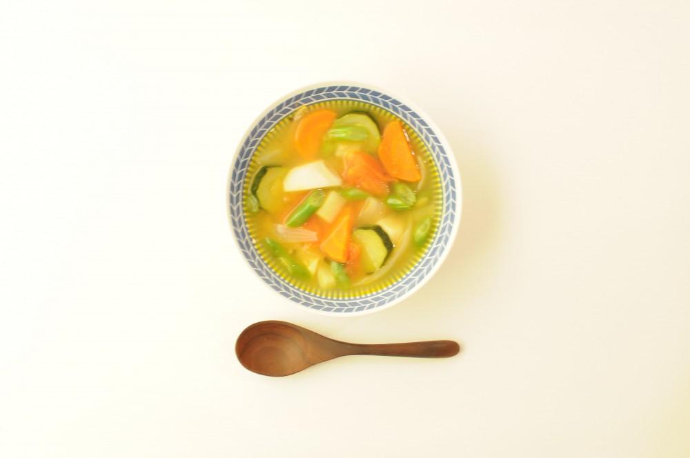いろいろ野菜のベジタブルスープ