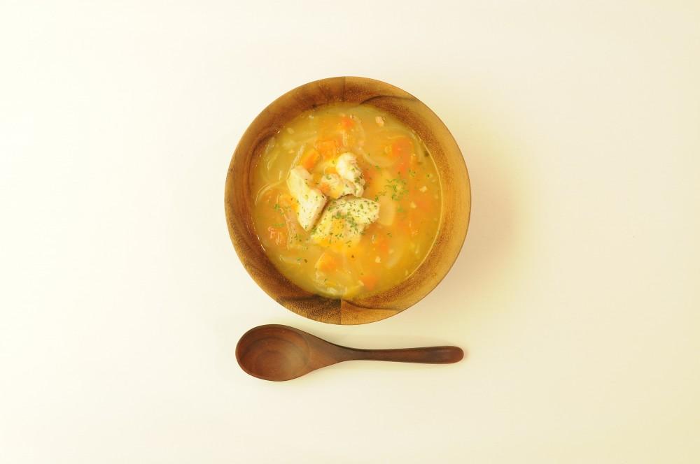 メカジキのスペイン風スープ