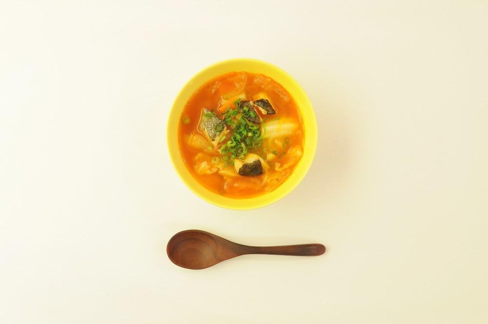 たらのキムチスープ