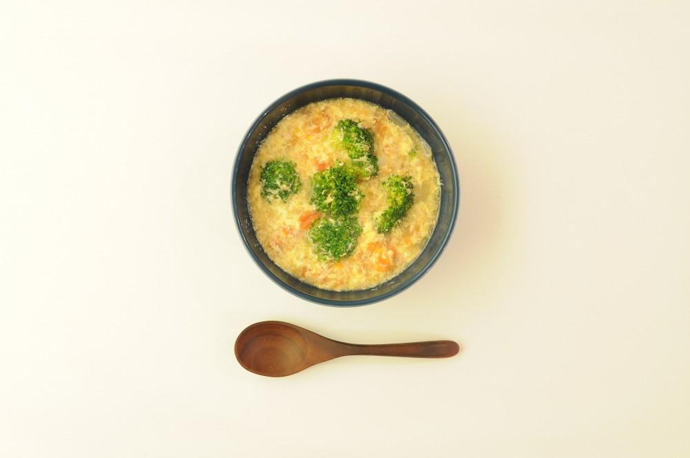ツナとトマトのかき玉スープ