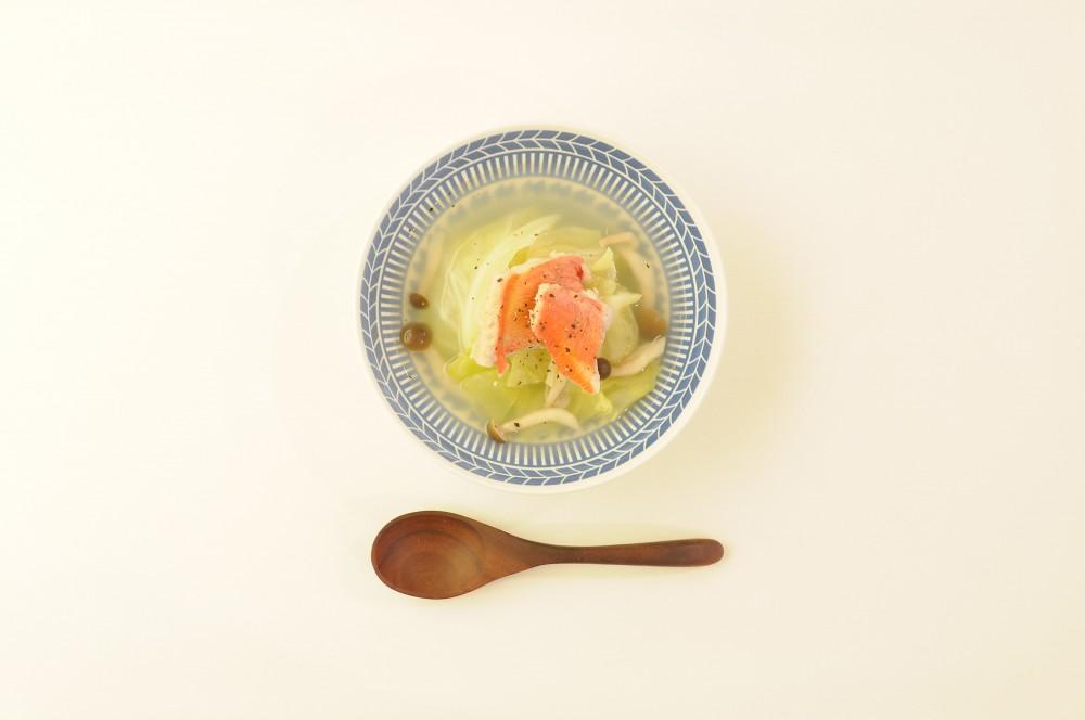 金目鯛とキャベツのスープ
