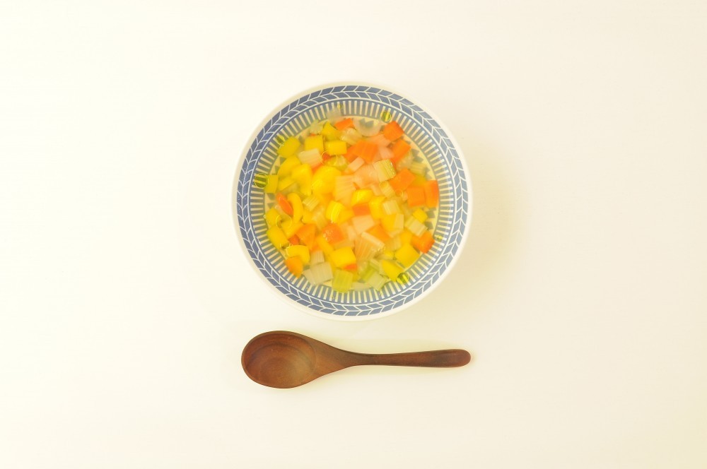 パプリカの彩りスープ