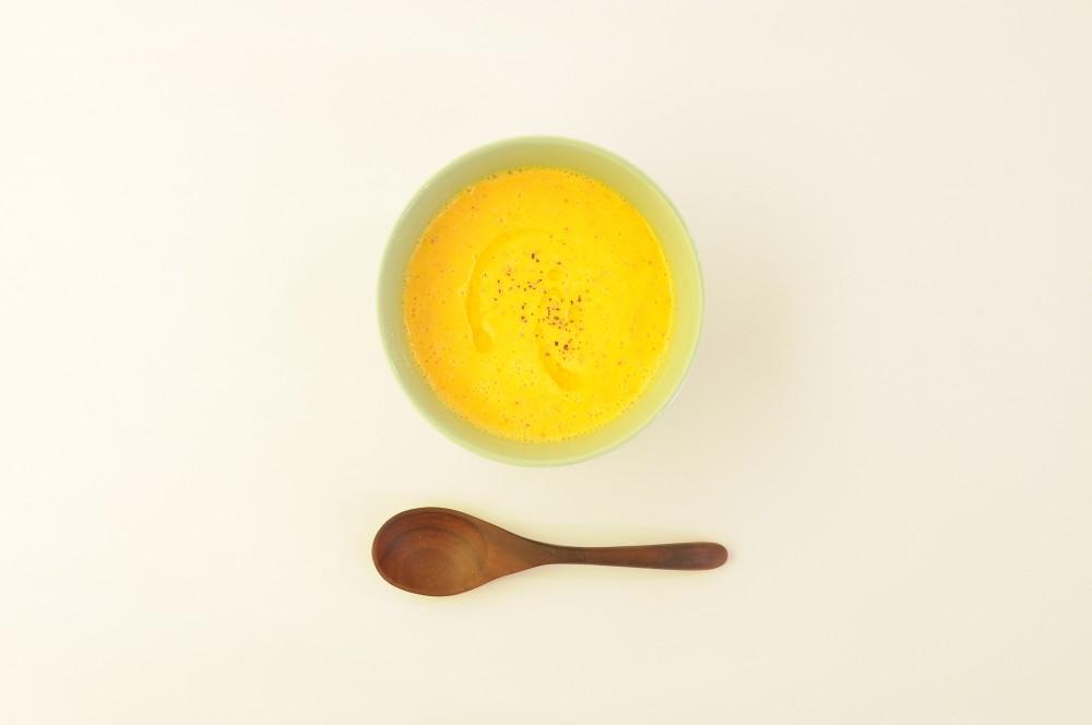 りんごとヨーグルトのキャロットスープ