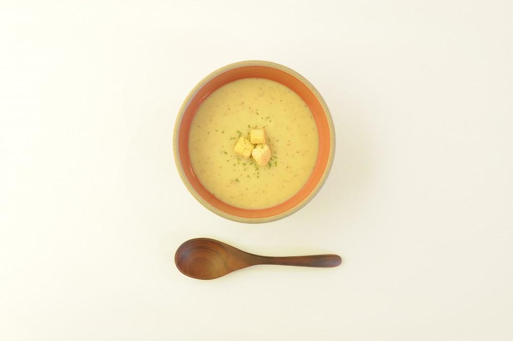 さつま芋とりんごのクリームスープ