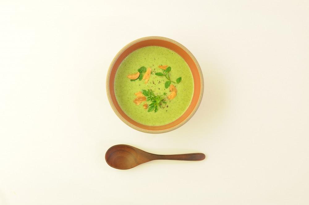 クレソンのクリームスープ