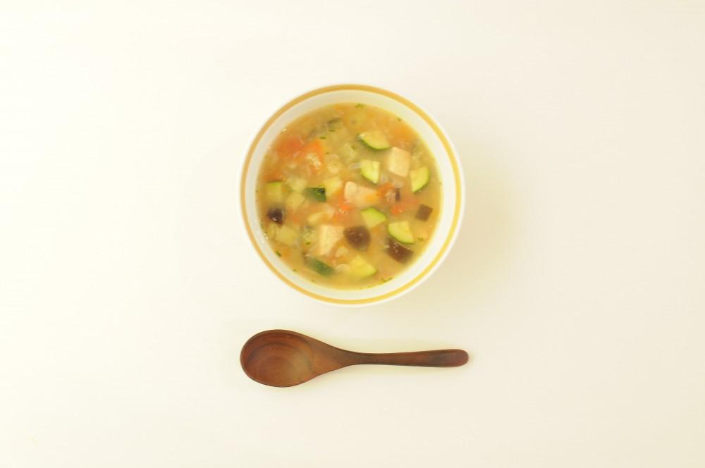 夏色野菜の南仏スープ