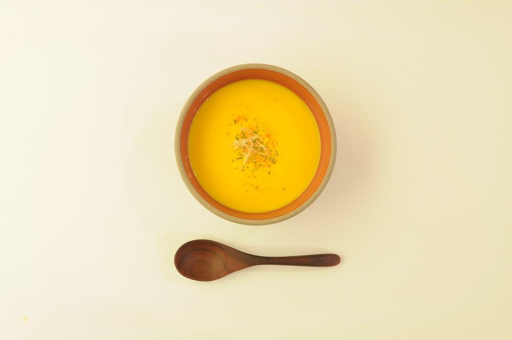 生姜香る南瓜のクリームポタージュ