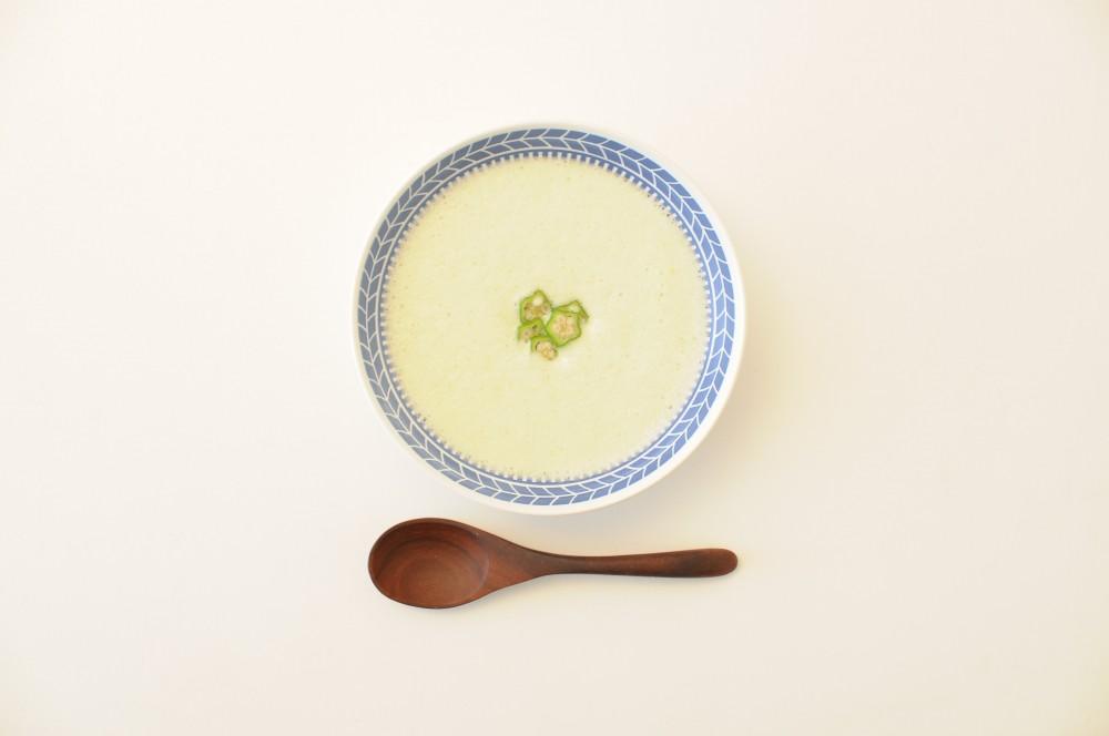 オクラの冷製スープ